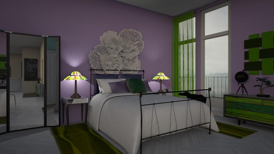 green purple - by svimglim