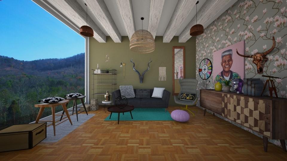 Africa  - Modern - Living room - by Karim Mahfouz