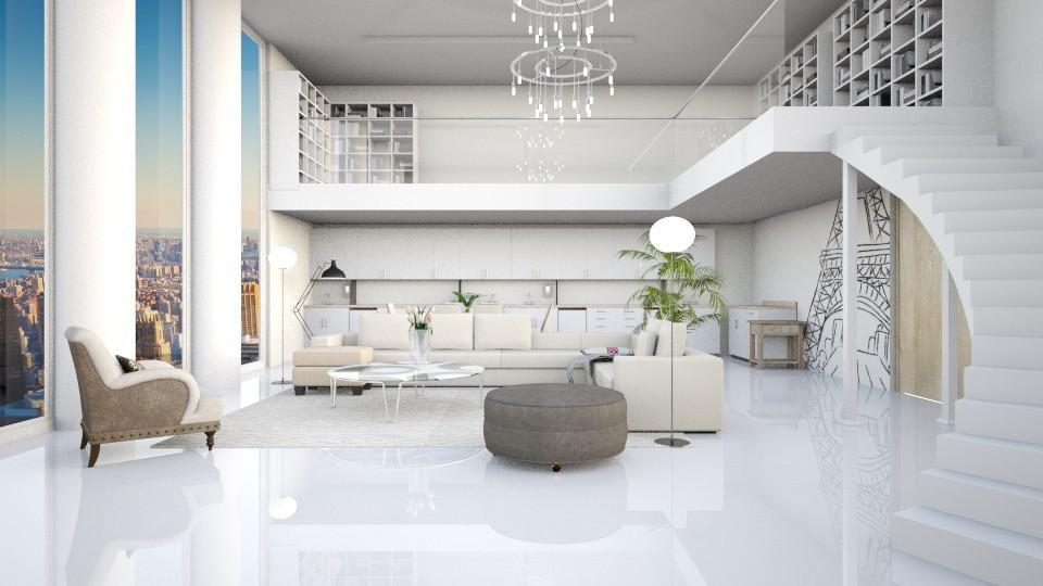 City Life - Living room  - by Yemascus