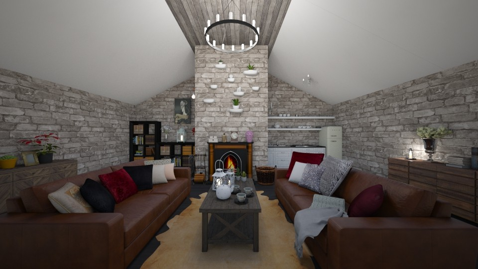Cozy Cottage - Classic - Living room - by Dragana2212