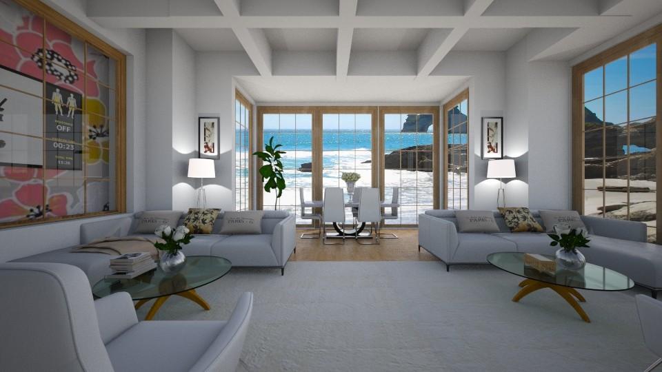 lovely living - Modern - Living room - by Tara T