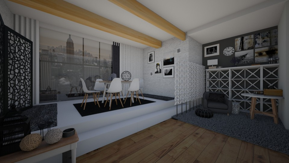 first1 - Modern - Living room - by deadgarden