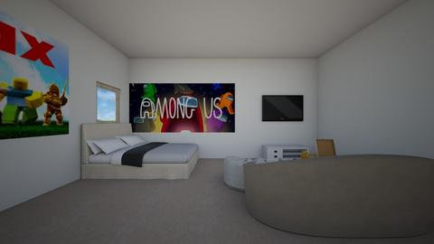Small Video Game Room - Bedroom  - by ChinchillaLover10