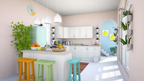 Modern Playful Kitchen - Kitchen - by dianasyafira