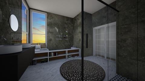 badkamer  - Modern - Bathroom  - by lunaklaassen