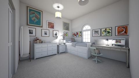 Teen Artist Bedroom - Bedroom - by Chicken202