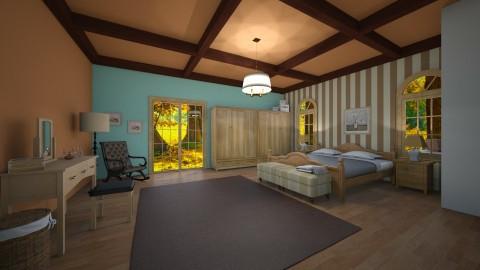 naturel bedroom - Country - Bedroom  - by nuray kalkan