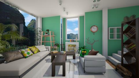 Earth tones - Living room - by Noella Louisy