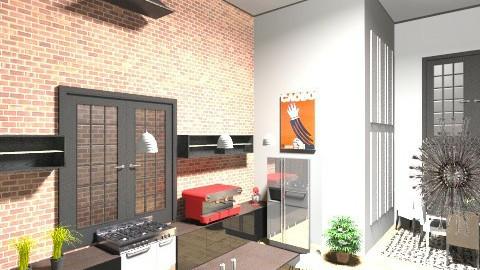 Loft2 - Living room - by marielabatalla
