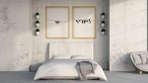 Rainy Bedroom - Modern - Bedroom  - by kitacat