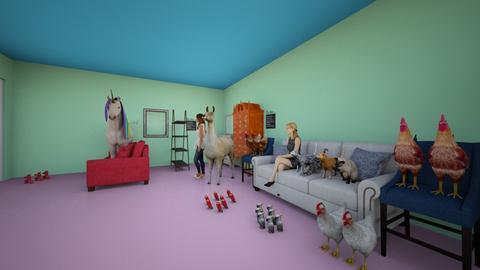 Animal house - Classic - Bedroom  - by aishabibi