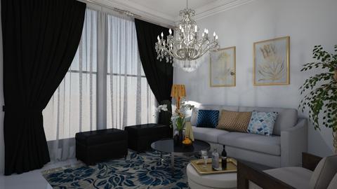 Chandelier - Living room  - by kristenaK