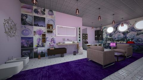 Lavender Bathroom  - Modern - Bathroom  - by Ravina_9069