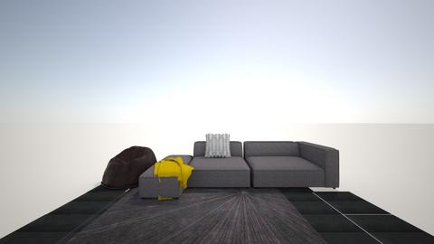 Theater  - Minimal - Living room  - by Breanna Hewey