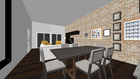 deneme3 - Living room - by demetersoy