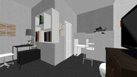 Dream Home 2 - Modern - Bedroom - by tcallahan