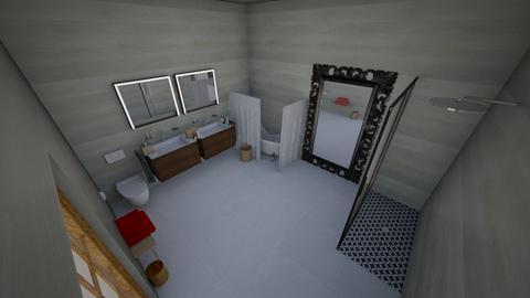 Bathroom - Bathroom  - by foxytheanimallover