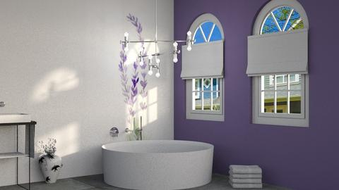 Lavender Bath - Bathroom  - by Cacti Queen
