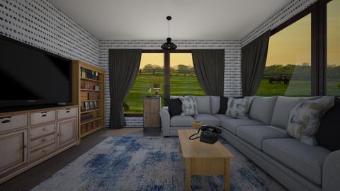 Rustic Window Room - Rustic - Living room  - by Bunny Barn