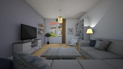 F - Classic - Living room  - by Twerka