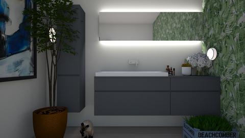 model bathroom - Modern - Bathroom  - by thanhngoc