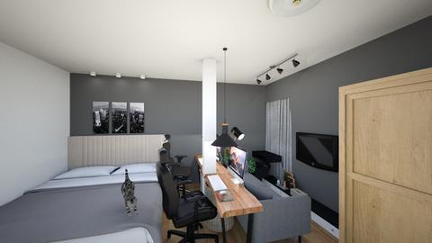 NEWroomP - Minimal - Bedroom  - by pashewon