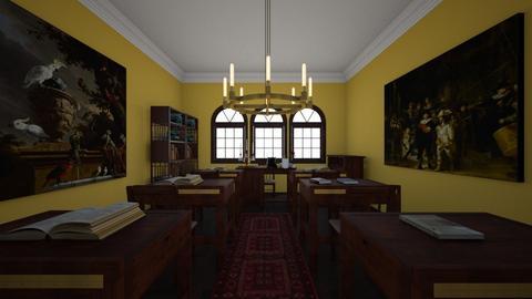 The Academy_Classroom - Classic - by Jojo Bear