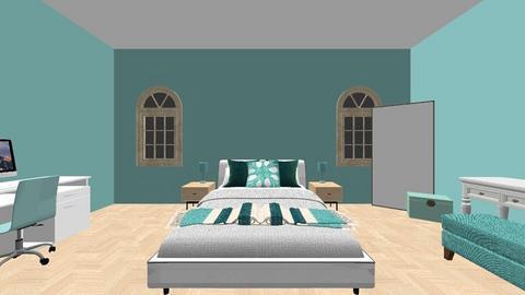 Teal Room - Bedroom  - by gracie28