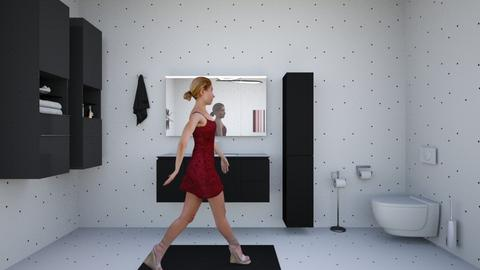 bathroom - Eclectic - Bathroom - by rubyrenteria