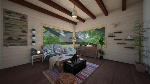 Rhona - Eclectic - Bedroom  - by RhonaFiles
