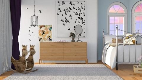 Softly Dreaming - Modern - Bedroom  - by Gurns