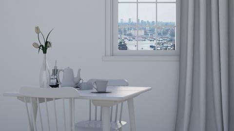 Weiss - Minimal - Dining room  - by HenkRetro1960