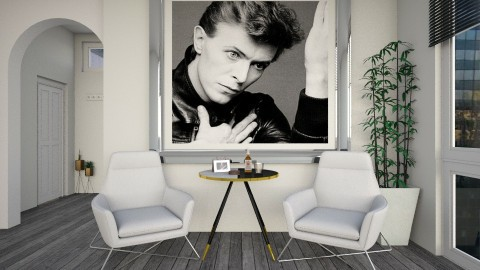bowie - Minimal - Living room  - by donella