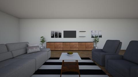 sala de estar  - Living room  - by pietra farias04