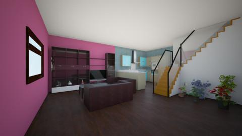 Apartament 1 - Rustic - Kitchen  - by Ionut Corbu