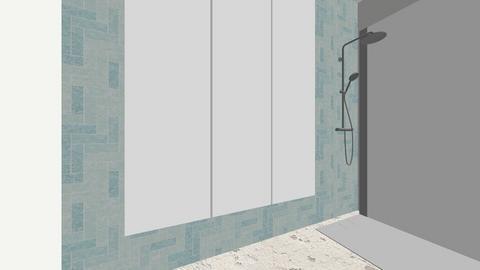 Palm Springs Guest Bath - Modern - Bathroom  - by Kkossol