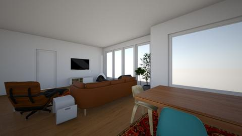 new living room 3 - Living room  - by deathrowdave