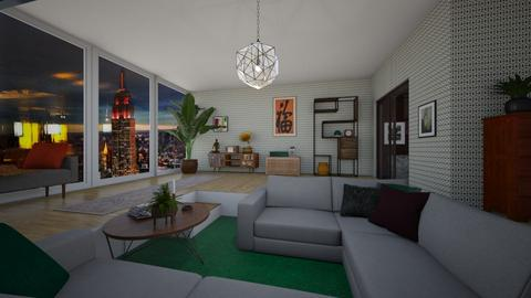 Mad Men apartment  - Vintage - Living room  - by adriannaw