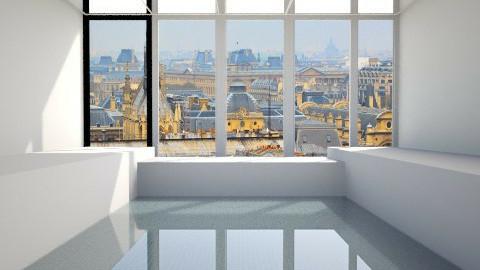pool - Retro - Bathroom  - by fauzan putra
