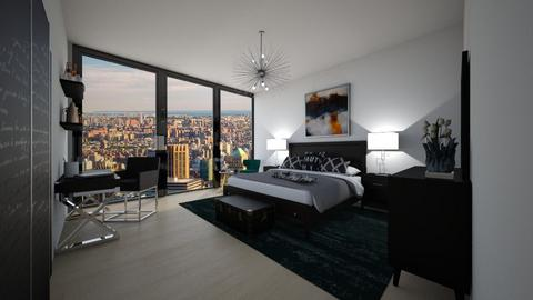 U penthouse - Bedroom - by flacazarataca_1
