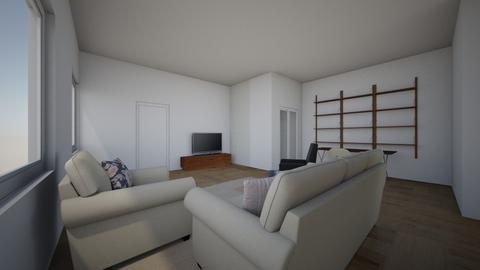 58 Vernon loft - Living room - by pthai