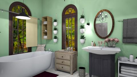Old Vintage Bathroom - Vintage - Bathroom  - by M i n h  T a m