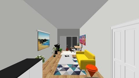 Greenwich - Modern - Living room  - by sammthejones
