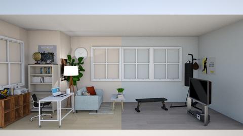 Livingroom - Living room  - by lenakokwei