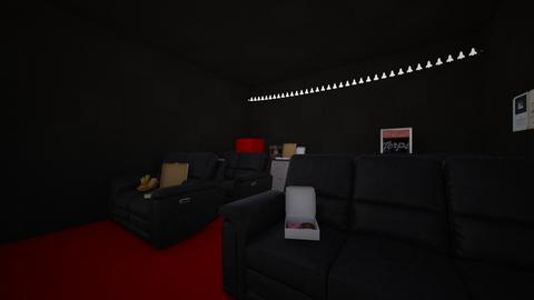 Movie room - by albyrne