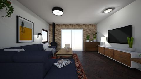 Limor Weissbard 1 - Living room  - by erlichroni