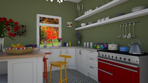 Kitchen 2  - Classic - Kitchen  - by Dragana2212