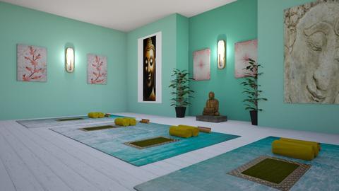 Peaceful Yoga Rugs - by KarJef