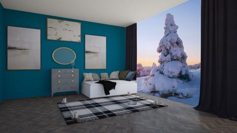 winter in modern  - Modern - Bedroom  - by aschaper