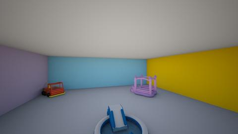 Toddler indoor waterpark - Kids room  - by scarplaysroomstyler